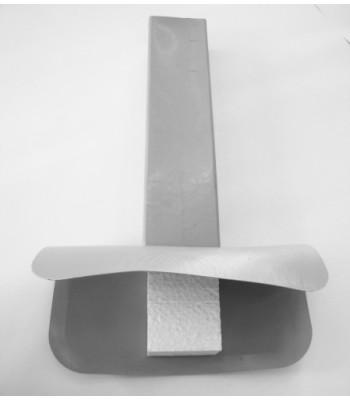 Rohová vpusť PVC 100x100